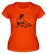 Женская футболка «Dj в работе» - Фото 1