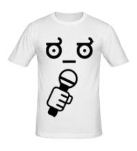 Мужская футболка Funny Singer