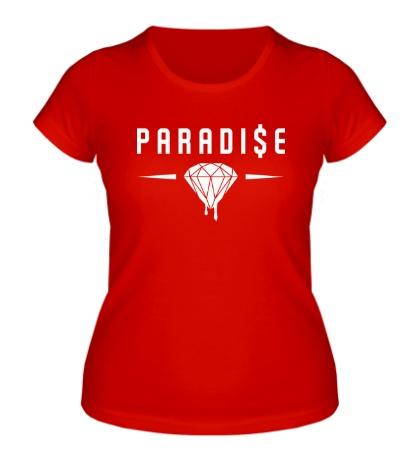 Женская футболка Paradise Diamond