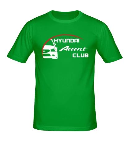 Мужская футболка Hyundai Accent Club