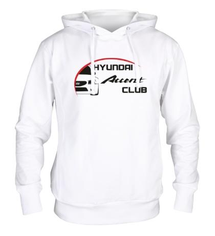 Толстовка с капюшоном Hyundai Accent Club