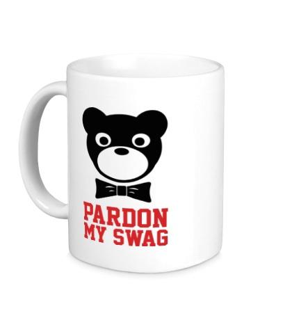 Керамическая кружка Pardon my SWAG