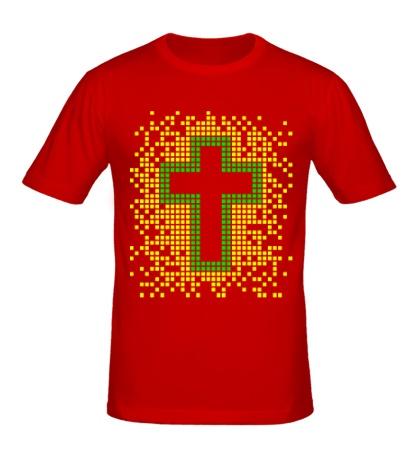 Мужская футболка Pixel Cross