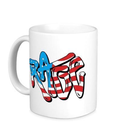 Керамическая кружка Rage Like an American