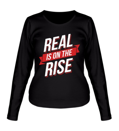 Женский лонгслив Real Rise