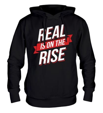 Толстовка с капюшоном Real Rise