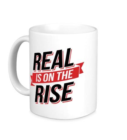 Керамическая кружка Real Rise