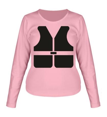 Женский лонгслив Safety Vest