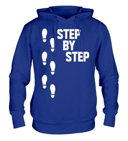 Толстовка с капюшоном Step by Step