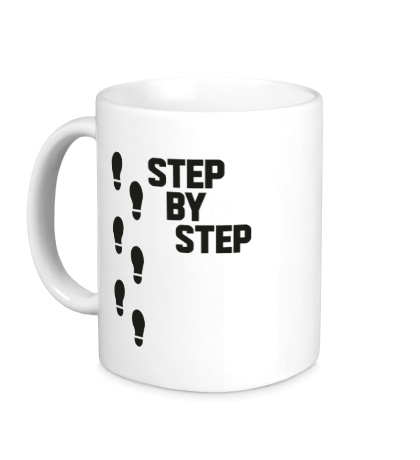 Керамическая кружка Step by Step