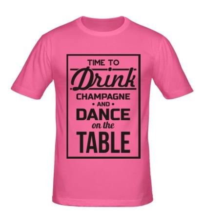Мужская футболка Time to Drink