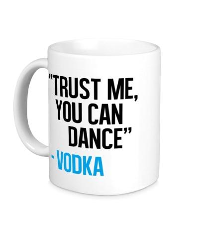 Керамическая кружка You can Dance