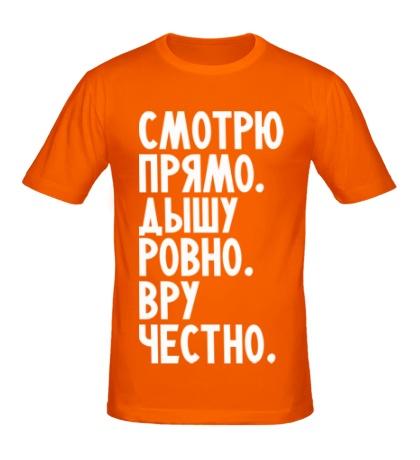 Мужская футболка Правильный человек