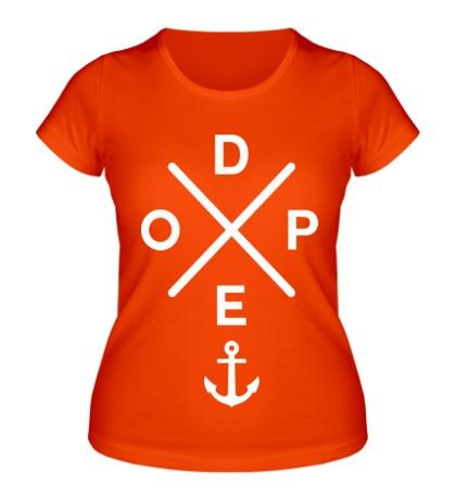Женская футболка Dope Anchor