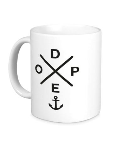 Керамическая кружка Dope Anchor