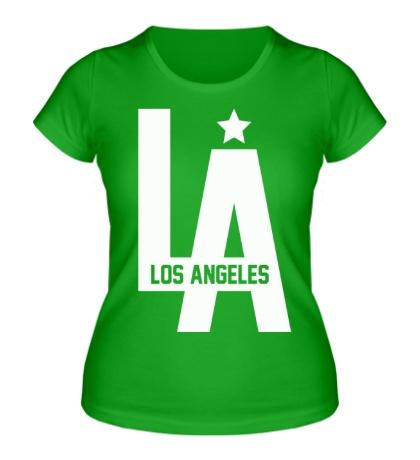 Женская футболка Los Angeles Star