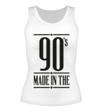 Женская майка Made in the 90s