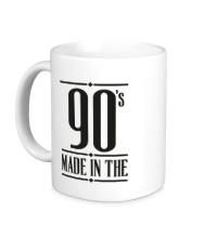 Керамическая кружка Made in the 90s