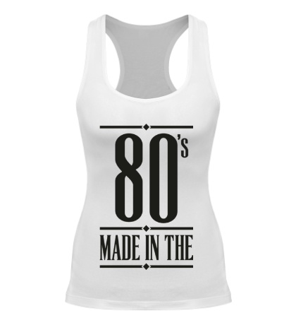 Женская борцовка Made in the 80s