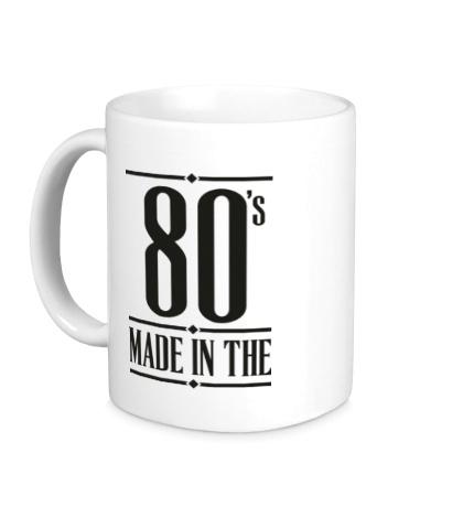 Керамическая кружка Made in the 80s