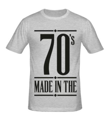 Мужская футболка Made in the 70s