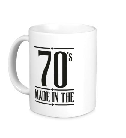 Керамическая кружка Made in the 70s