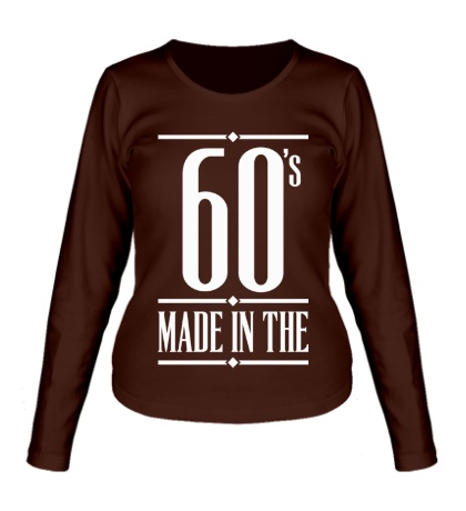 Женский лонгслив Made in the 60s