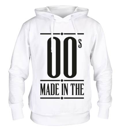 Толстовка с капюшоном Made in the 00s