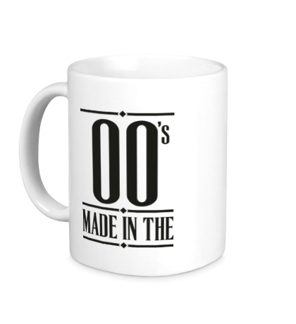 Керамическая кружка Made in the 00s