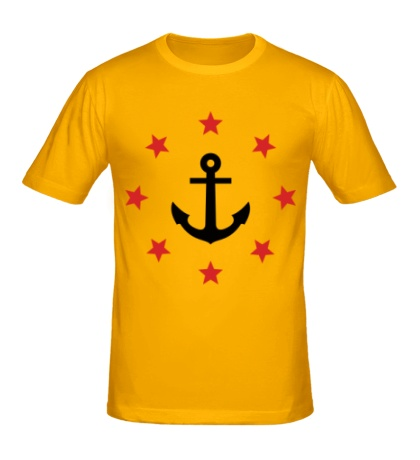 Мужская футболка Anchor Stars