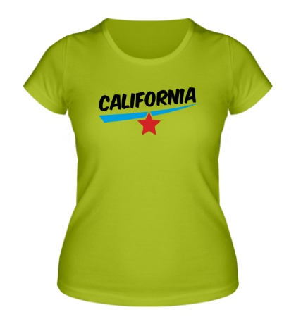 Женская футболка California