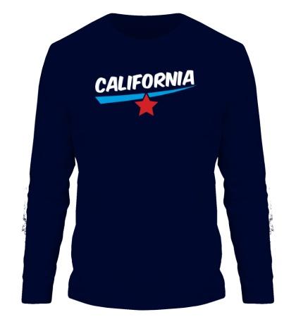 Мужской лонгслив California