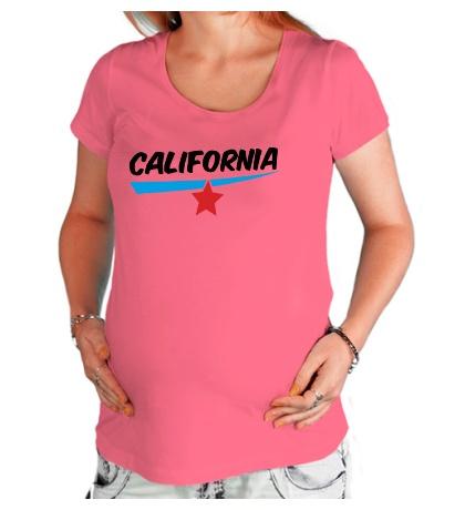 Футболка для беременной California