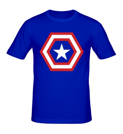 Мужская футболка Captain Star