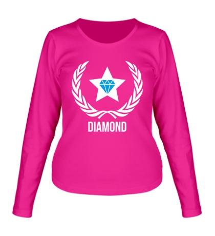 Женский лонгслив Diamond Star