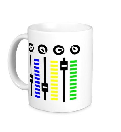 Керамическая кружка DJ Mixer