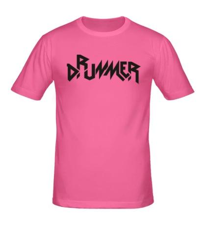 Мужская футболка Drummer