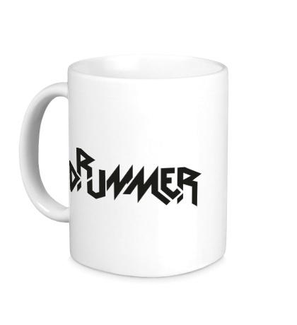 Керамическая кружка Drummer