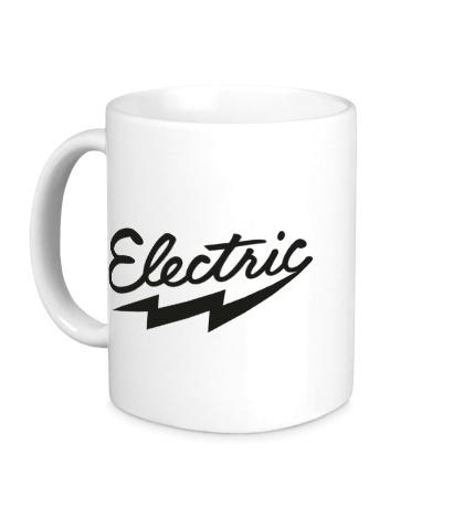 Керамическая кружка Electric Ray