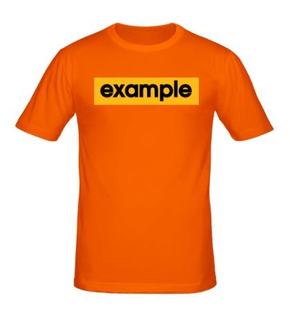 Мужская футболка Example