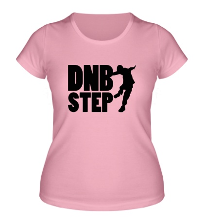 Женская футболка «DnB Step»