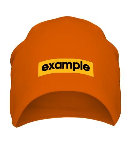 Шапка Example