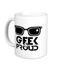 Керамическая кружка Geek & Proud
