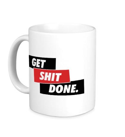 Керамическая кружка Get Shit Done
