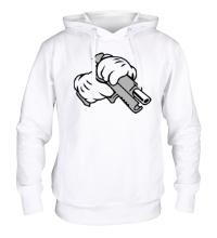 Толстовка с капюшоном Gun Hands