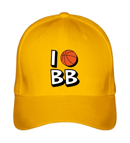 Бейсболка I love Basketball