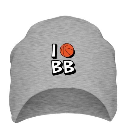 Шапка I love Basketball