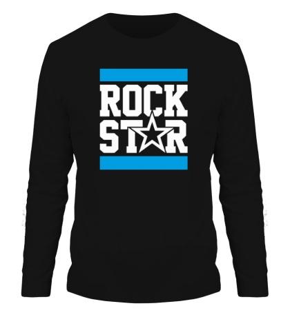 Мужской лонгслив Run Rock Star