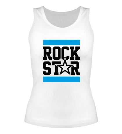 Женская майка Run Rock Star