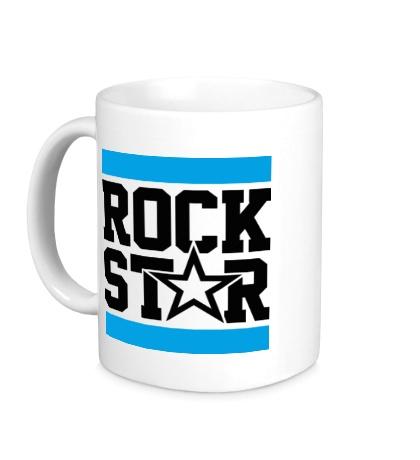 Керамическая кружка Run Rock Star